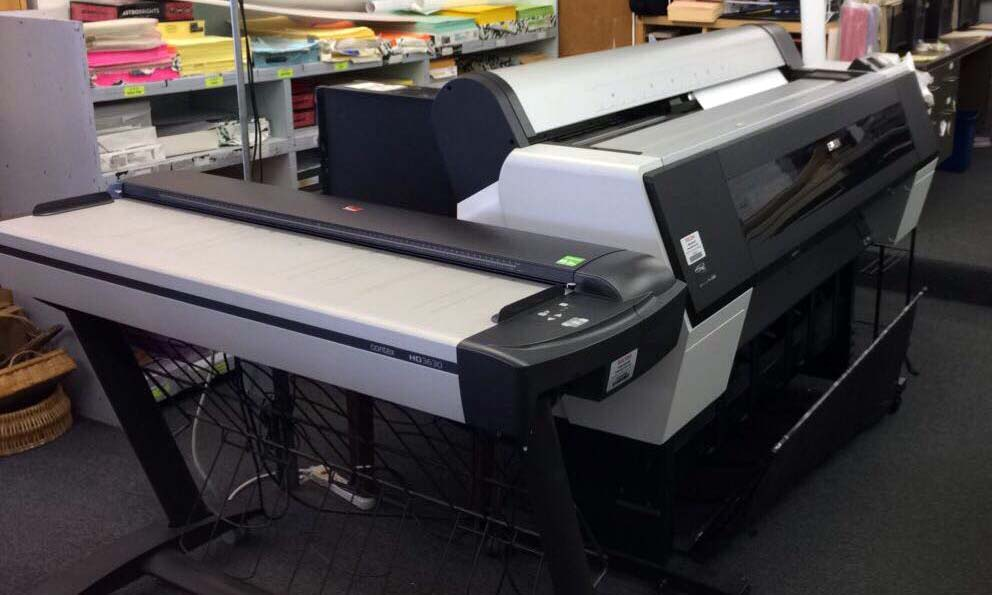 Our top of the line scanner and Epson printer. Great for scanning maps, large photos or artwork. Printing on watercolor or even canvas will surely make your photos stand out!